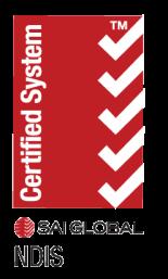 SAI NDIS certified system logo